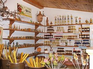 Miód, sklep miodowy w pasiece Ulik