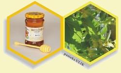 Naturalny, polski miód pszczli lipowy z pasieki Ulik na Roztoczu.