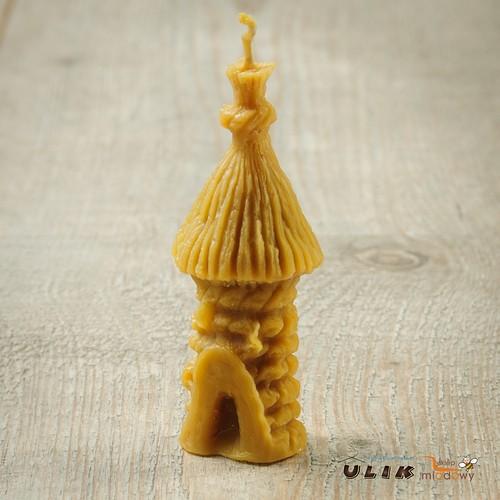 naturalny wosk pszczeli z pasieki Ulik na Roztoczu