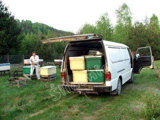 ULIK, transport uli z pszczołami