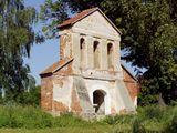 Rouny starego kościoła w Mokrelipie