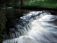 Wodospad na rzece Tanew w Suścu