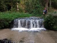 Wodospad na źródełku Jeleń