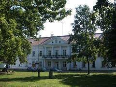 Zespół budynków Zarządu Ordynacji Zamojskiej z pierwszej połowy XIX wieku, obecnie Zesół Szkół.