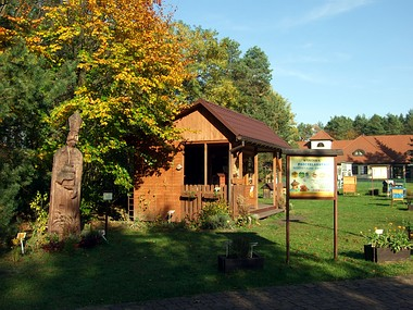 Miód z pasieki Ulik, muzeum Roztoczański Park Narodowy.