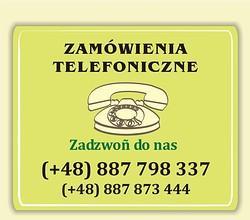 Telefoniczne zamówienia miodów z pasieki ulik pod numerem 887 873 444 oraz 887 798 337. Zadzwoń i kup miód.